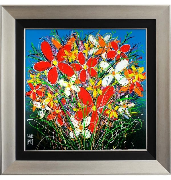1BS Tangled Flowers on Canvas 75 x 75cm_w
