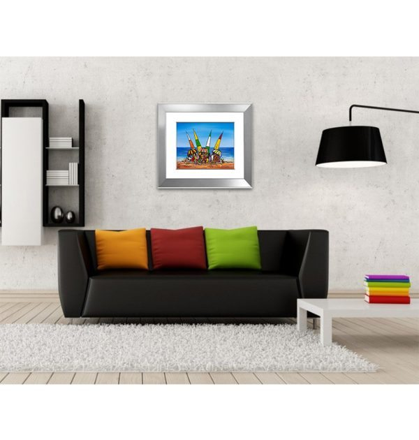 Beach Party Giclee