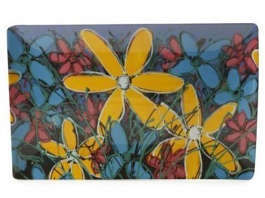 127228 Yellow Tangled Gerberas 30 x 20cm 83131w