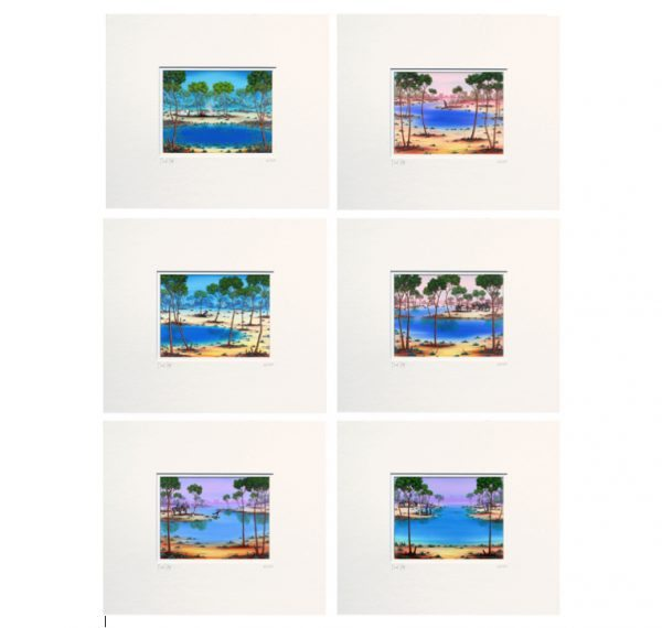 Set of 6 Matted_w2