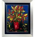 1BS Red Vase on Canvas 75 x 60cm_w