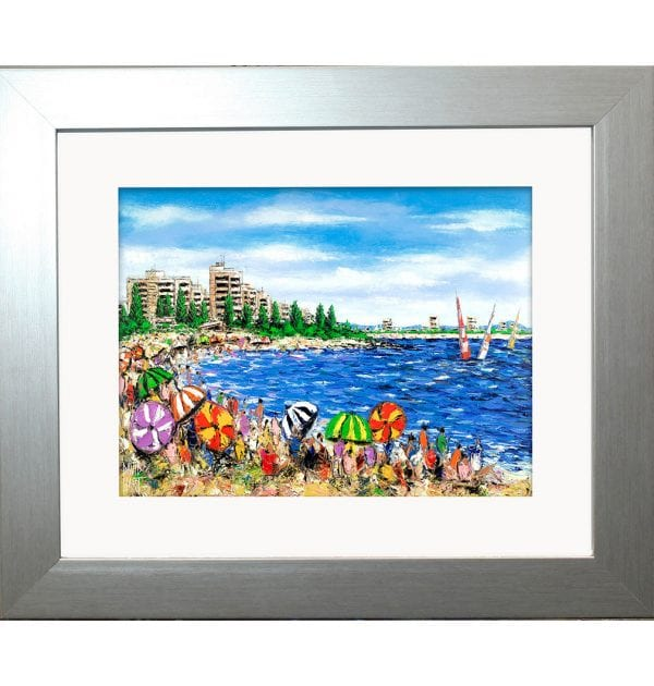 Mooloolaba Beach on Canvas SW_w